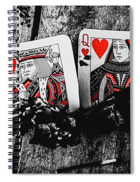 Casino Hot Streak  Spiral Notebook