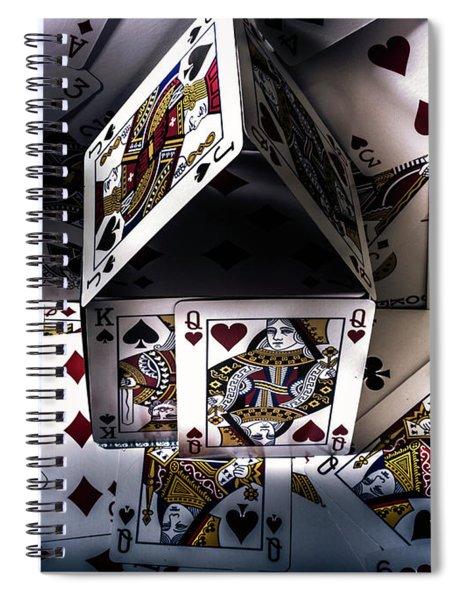 Casino House Spiral Notebook
