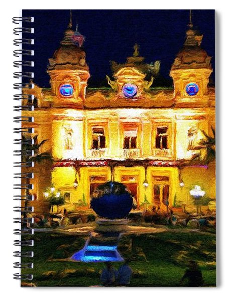 Casino Monte Carlo Spiral Notebook