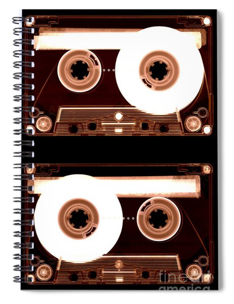 Cassette Tapes Spiral Notebook