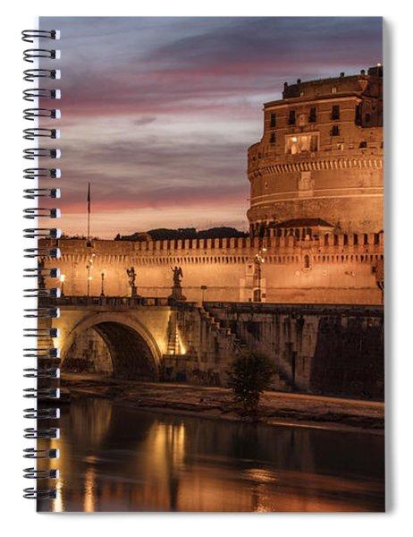 Castel St Angelo  Spiral Notebook