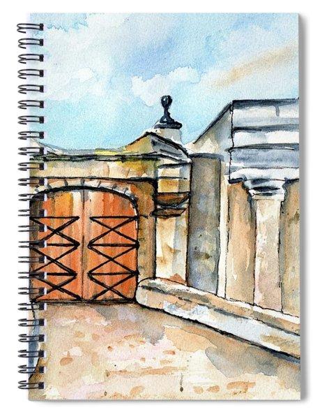 Castillo De San Cristobal Entry Gate Spiral Notebook