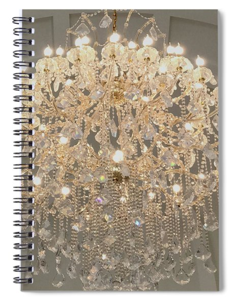Castle Front Hall 01 Spiral Notebook
