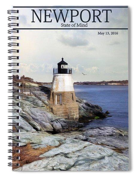 Castle Ill Light Spiral Notebook