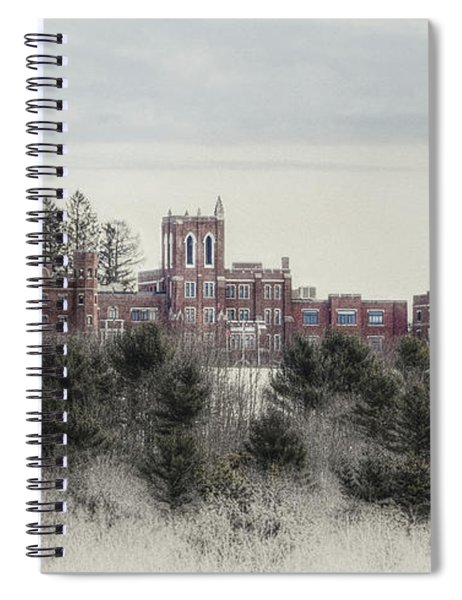 Castle In Maine Spiral Notebook