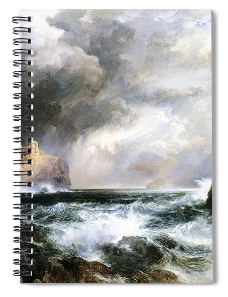 Castle In Scotland Spiral Notebook