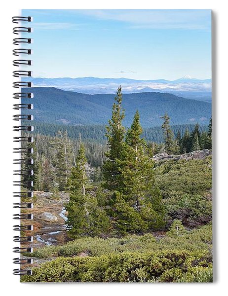 Castle Lake Trail Spiral Notebook