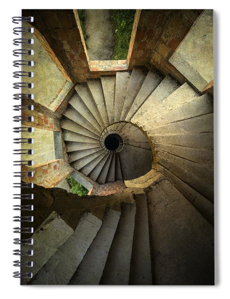 Castle Of Unfinished Dreams Spiral Notebook