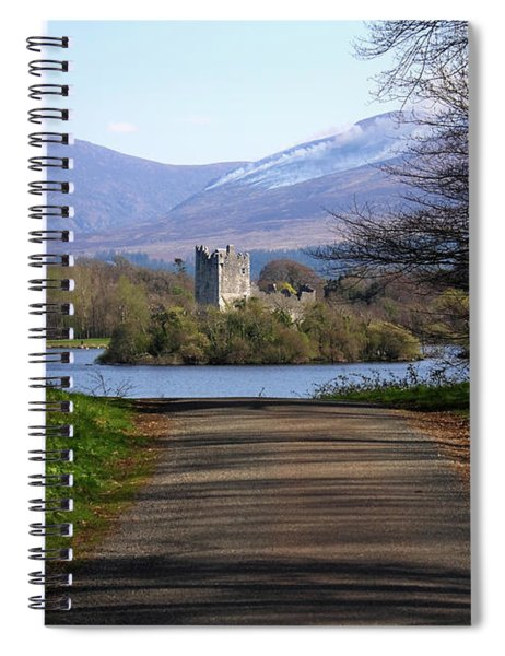 Castle On The Lakes Spiral Notebook
