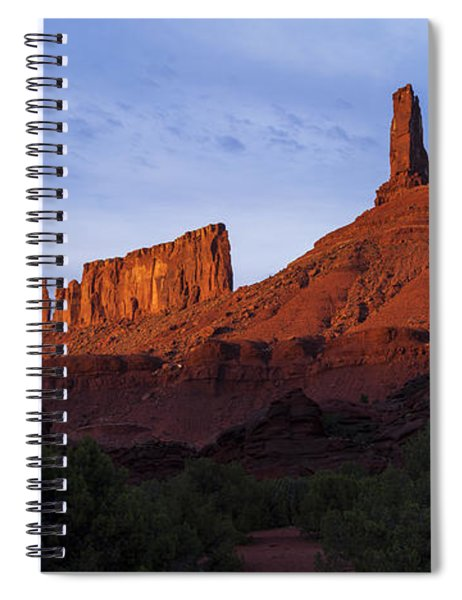 Castle Towers Spiral Notebook