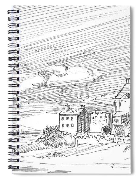 Castle2 Spiral Notebook