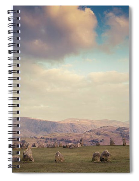 Castlerigg Stone Circle Spiral Notebook