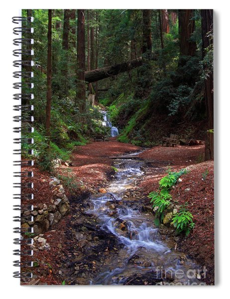 Castro Canyon In Big Sur Spiral Notebook