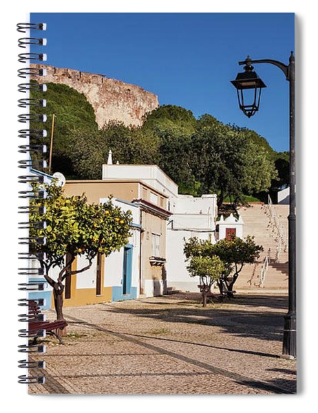 Spiral Notebook featuring the photograph Castro Marim - Algarve, Portugal by Barry O Carroll