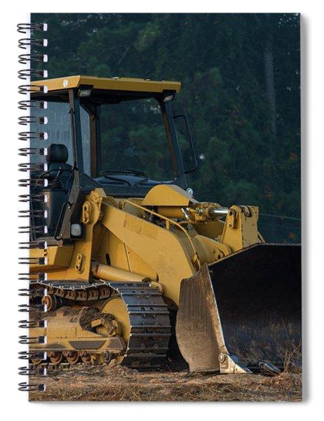 Cat 953c Track Loader Construction Art Spiral Notebook