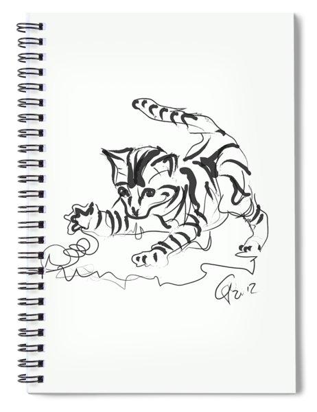 Cat- Cute Kitty  Spiral Notebook