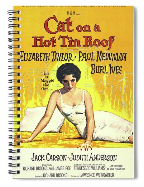 Cat On A Hot Tin Roof 1958 Spiral Notebook