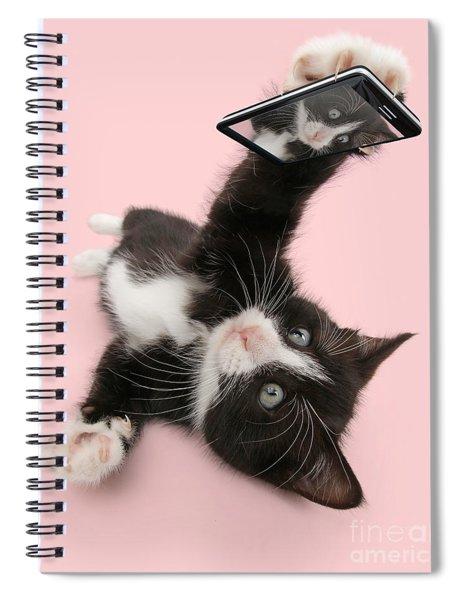 Cat Selfie Spiral Notebook