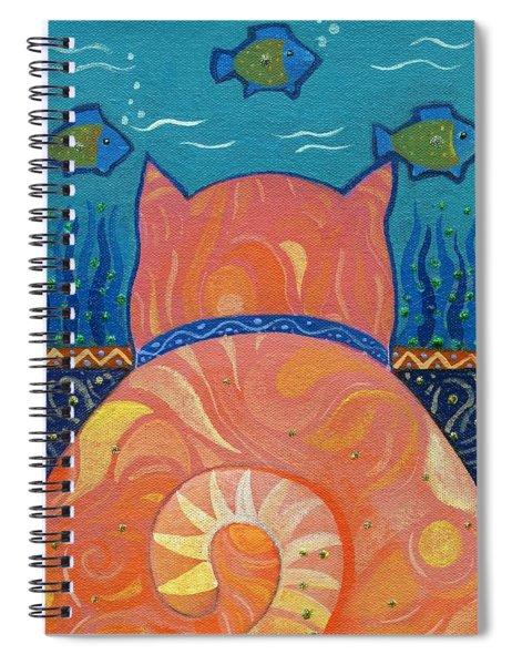 Cat Tales Spiral Notebook