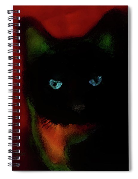 Cat Tiny You Painting Spiral Notebook