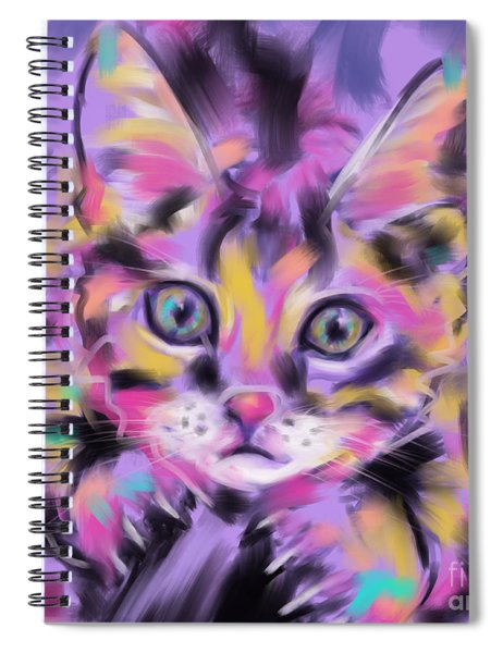 Cat Wild Thing Spiral Notebook