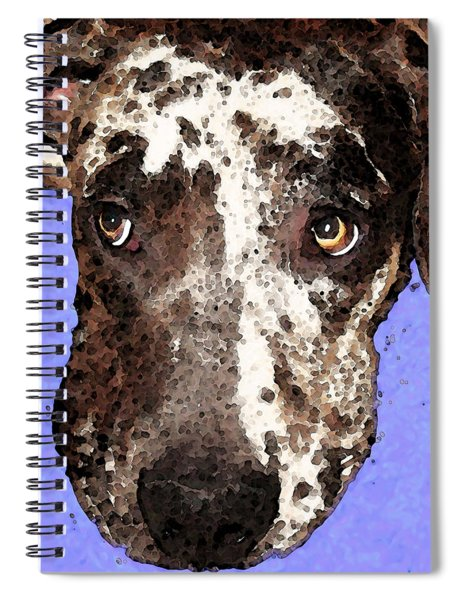 Catahoula Leopard Dog - Soulful Eyes Spiral Notebook