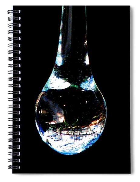 Catch A Teardrop Spiral Notebook