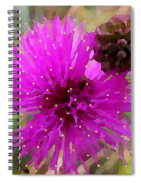 Catclaw Pink Mimosa  Spiral Notebook