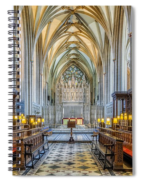 Cathedral Aisle Spiral Notebook