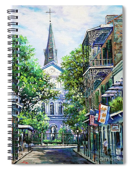 Cathedral At Orleans Spiral Notebook