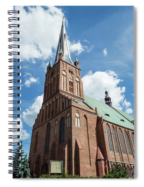 Cathedral Basilica Of St. James The Apostle, Szczecin A Spiral Notebook