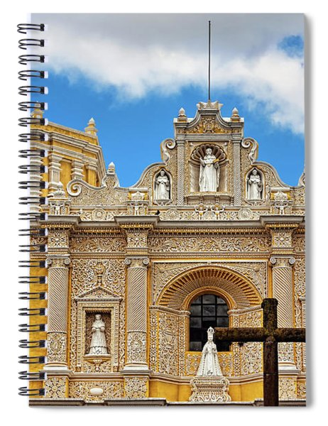 Cathedral In Antigua, Guatemala Spiral Notebook