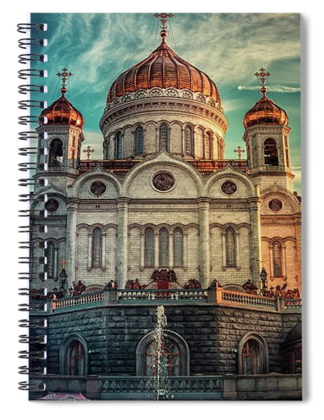 Cathedral Of Christ The Saviour Spiral Notebook