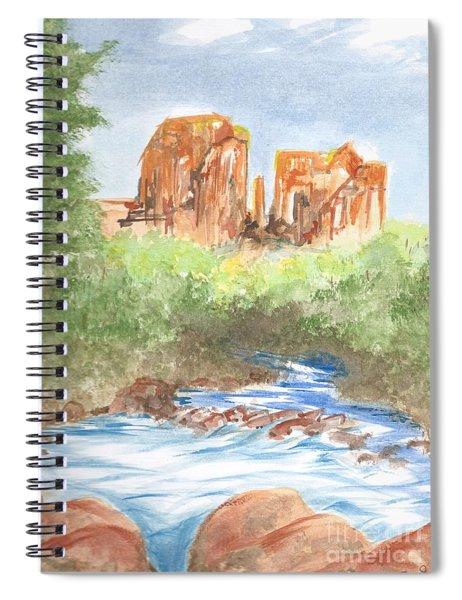 Cathedral Rock 2,  Sedona, Az. Spiral Notebook