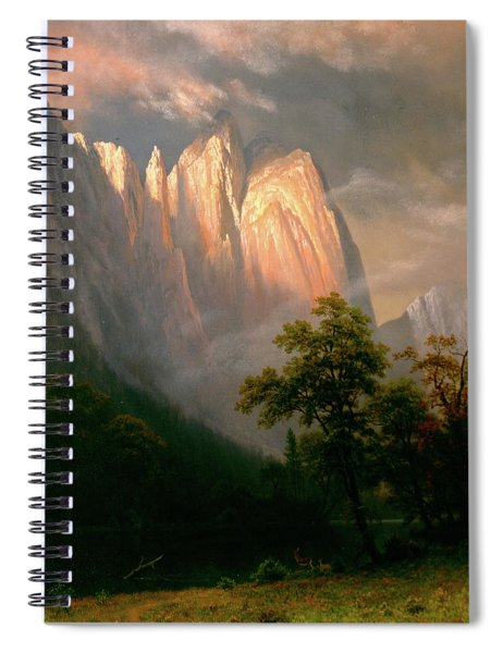 Cathedral Rocks Spiral Notebook