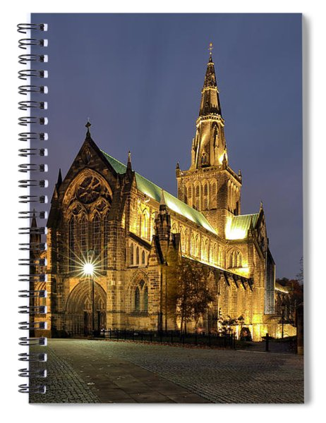 Cathedral Twilight Spiral Notebook
