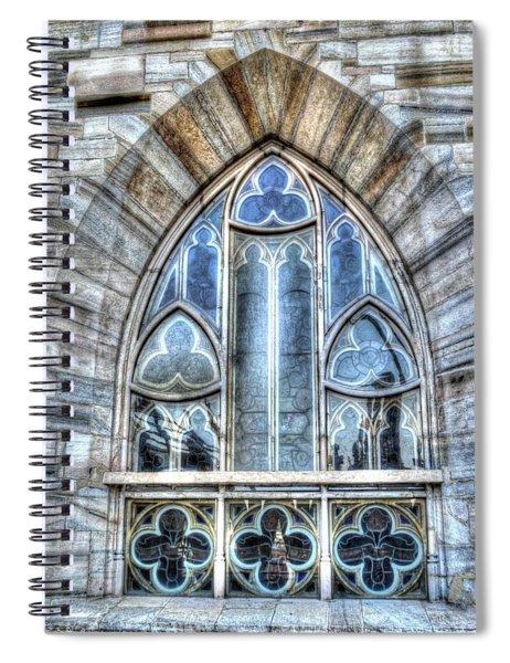 Cathedral Window Milan Spiral Notebook
