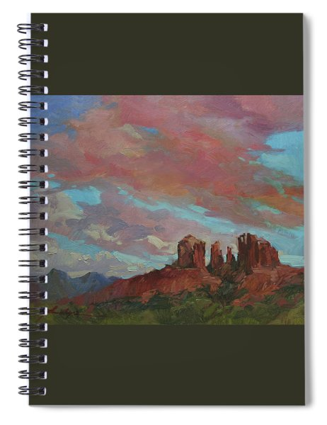 Catherdral Canopy Spiral Notebook