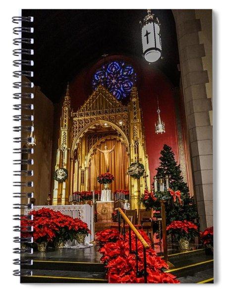 Catholic Christmas Spiral Notebook
