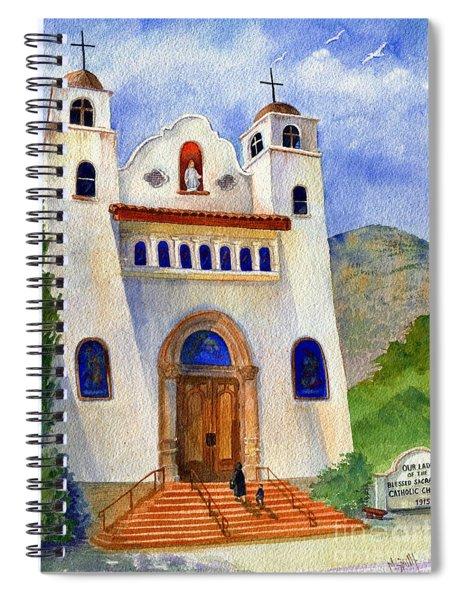 Catholic Church Miami Arizona Spiral Notebook