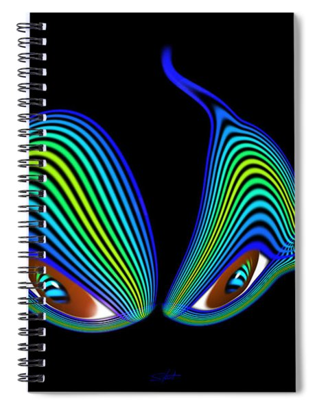 Cat's Eyes Spiral Notebook