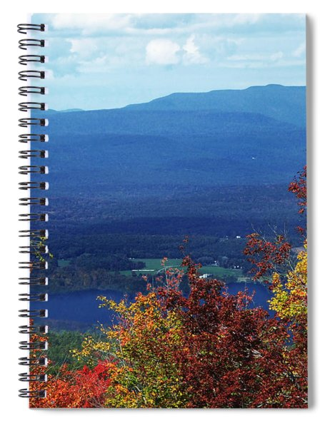 Catskill Mountains Photograph Spiral Notebook