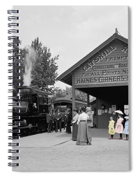 Catskill Railroad Spiral Notebook