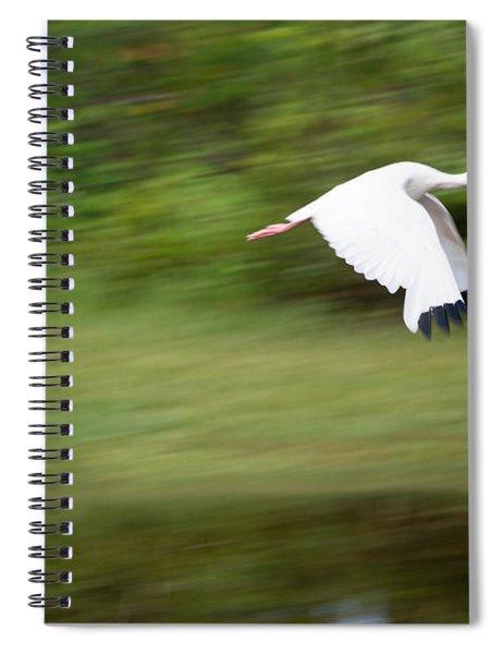 Caught In Flite Spiral Notebook