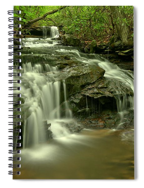 Cave Falls At Cole Run Spiral Notebook
