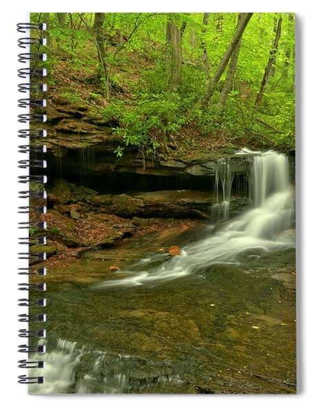 Cave Falls Of Somerset County Spiral Notebook
