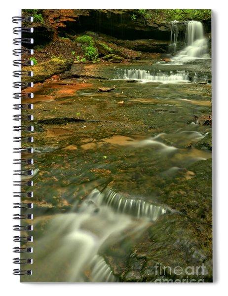 Cave Falls Portrait Spiral Notebook