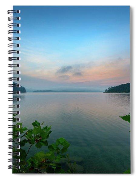 Cave Run Morning Spiral Notebook