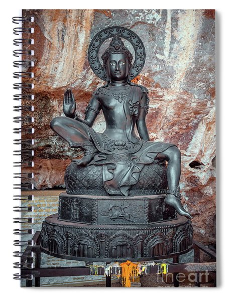 Cave Statue Spiral Notebook