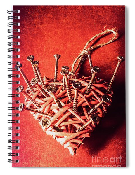 Cavities Of Love Spiral Notebook